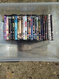 Joblot bundle DVDs and CDs