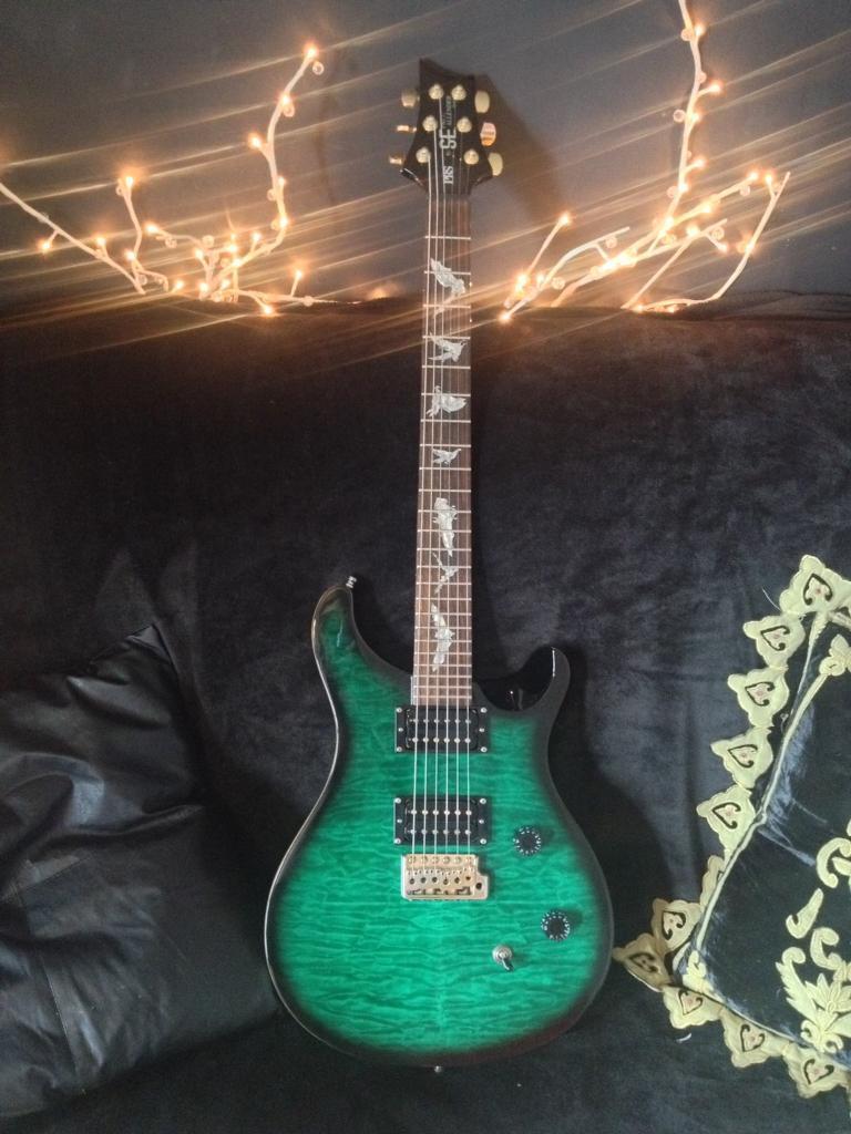 prs se paul allender mk1 signature electric guitar in emerald green in clapham london gumtree. Black Bedroom Furniture Sets. Home Design Ideas