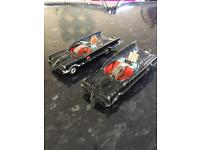 Bat mobiles corgi toy cars 1970s