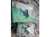 2 x bags of my protein diet shakes,Gluten free