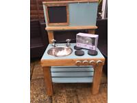 Children's wooden Mud Kitchen