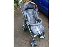 Silvercross 3D pushchair