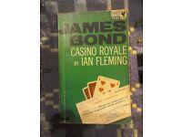 Casino Royale by Ian Fleming. Pan. Very used.