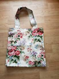 Tote bags. All upcycled.