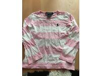 Girls Ralph Lauren stripe top
