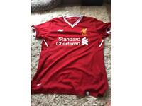 Size small authentic Liverpool shirt