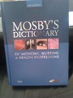Mosby's Dictionary of Medicine, Nursing & Health Professions NEW