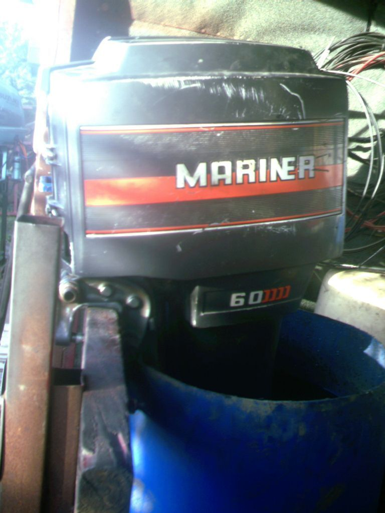 Outboard motor mariner 60 hp l sh rebuilt in newcastle for Best 8 hp outboard motor