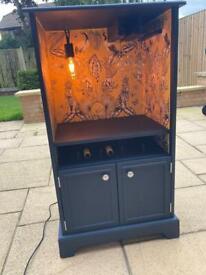 Bespoke Drinks Cabinet and Wine Rack £150