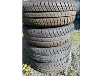 4 wheels and nearly new Goodyear tyres Efficient grip Compact