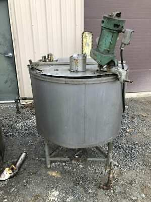 115 Gallon Stainless Steel Insulated Mixing Tank W Lightnin Ns-1 Agitator 3ph
