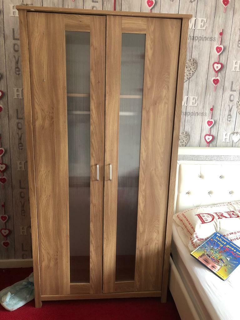 2 door wardrobe set of 8 draws | in Knutsford, Cheshire | Gumtree