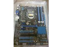 untested ASUS P8Z77-V LX LGA 1155 Intel Z77 Motherboard