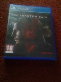 3 x PS4 Games for sale.