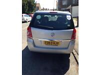 Vauxhall zafira2013 manual 1.6 petrol pco ready in uber £5650.00