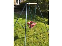 Small child's swing