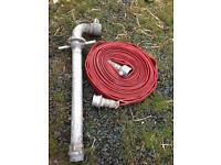 Fire hydrant standpipe