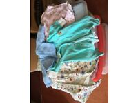Large bag mixed newborn and tiny baby clothes