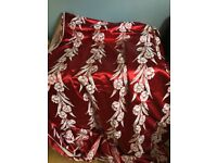 Vintage Heavy Curtain or Upholstery Fabric/Material 15 ft long