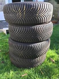Winter Tyres x 4 - Michelin Alpin 5