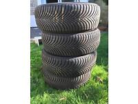 Winter Tyres x 4 - Michelin
