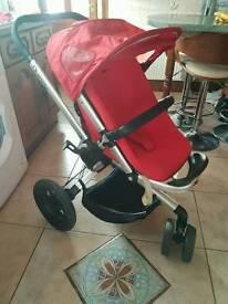 Quinny buzz pushchair & carrycot - pram