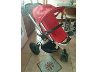 Quinny buzz pushchair & carrycot - pram