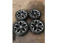 Citroen DS3 17 inch alloys Michelin tyres