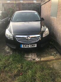 Vauxhall insigna 2.0 diesel black