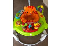 Baby bouncer jumperoo jungle theme excellent condition