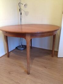 60s style dining table