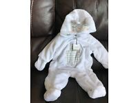 Baby Pramsuit/All-in-One Coat New