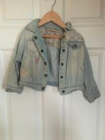Girls next deniem jacket 1 1/2 - 2 years