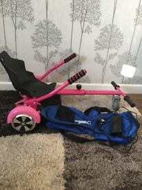 Girls Pink 6.5 Classic Segway and hoverKart