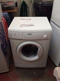 bush 6kg 1200 spin washing machine with instructions