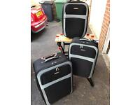 Set of Three Constellation Suitcases