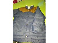 GAP Kids Boys Blue Puffer Style Jacket