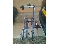 Thule Euroride 941 7-pin 2-bike carrier with locking knobs and in as-new condition