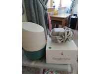 Google home- hardly used brand new condition