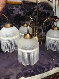 American Diner Style pendant & wall lights
