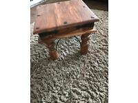 Brilliant Solid Wood Side Table