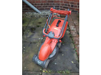 Flymo RE320 Lawnmower Grass Cutter Push Mower