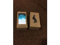 iPhone 6s silver 64 gb unlocked like brand new spotless mint condition Boxed with all accessories.