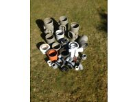 Selection of soil pipe fittings