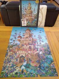 Heye 1000 piece jigsaw puzzle - WANTED! - SUSIE