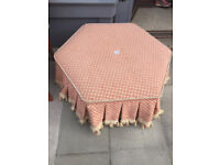 Large footstool in good condition, Feel free to view Free local delivery Size L 36 in H 15 in