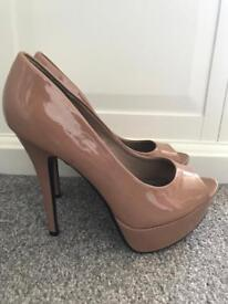 Nude high heels size 6 worn once