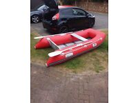 Inflatable dinghy with 3.5hp engine
