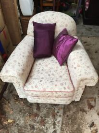 a victorian deep sedted arm chair for sale
