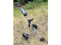 Collapsible 2 wheeled golf trolley (fits bag sold in another listing)